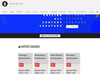 mediatraining.ltd.uk screenshot