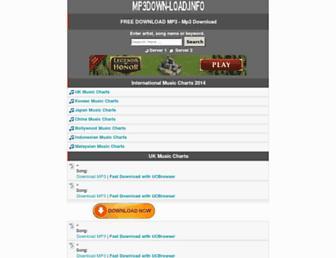 mp3down-load.info screenshot