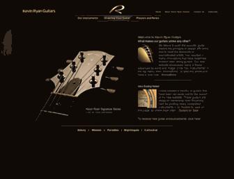 ryanguitars.com screenshot