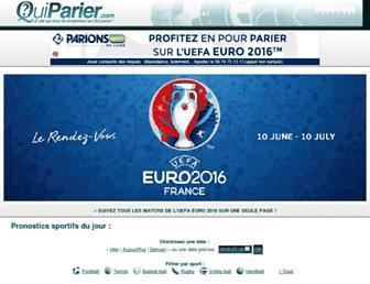 quiparier.com screenshot