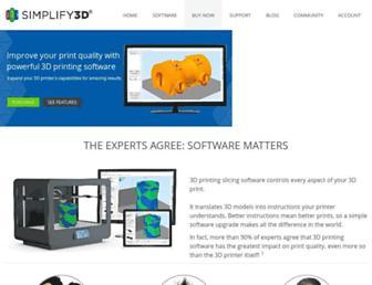simplify3d.com screenshot