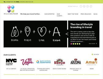 hillsbalfour.com screenshot