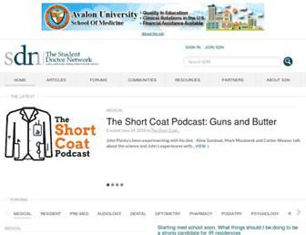 Thumbshot of Studentdoctor.net