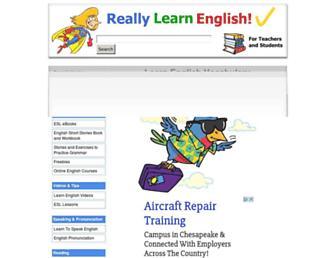 Thumbshot of Really-learn-english.com