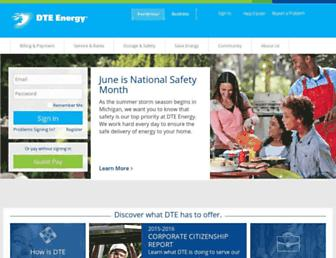 Thumbshot of Dteenergy.com