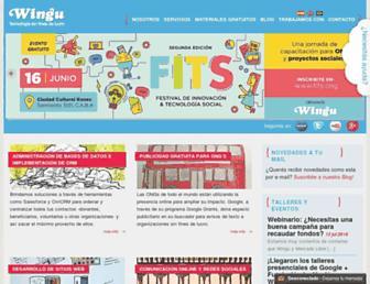 Thumbshot of Winguweb.org