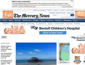 Thumbshot of Mercurynews.com