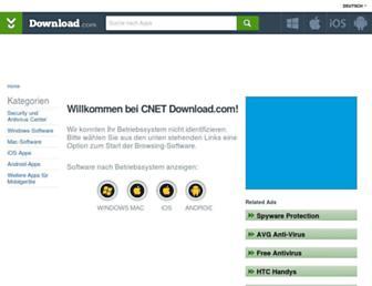 de.download.cnet.com screenshot