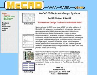 mccad.com screenshot