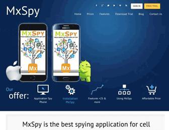 mxspy.com screenshot