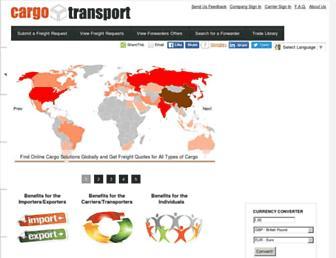 cargotransport.org screenshot