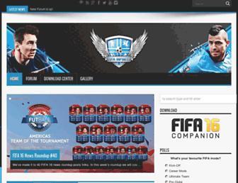 fifa-infinity.com screenshot