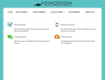 dinozoom.com screenshot