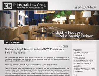 restaurantlawny.com screenshot