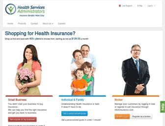 hsainsurance.com screenshot