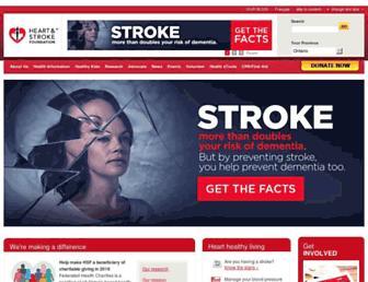 Thumbshot of Heartandstroke.on.ca