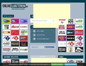 onlineluisteren.nl screenshot
