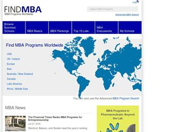 find-mba.com screenshot