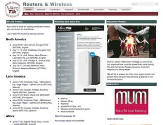 Thumbshot of Mikrotik.com