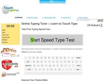 touchtype.co screenshot
