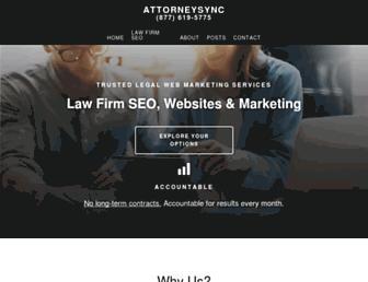 attorneysync.com screenshot