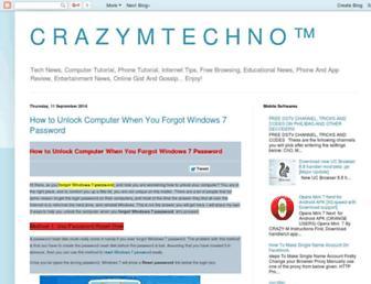 crazymtech.blogspot.com screenshot
