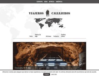 Thumbshot of Viajeroscallejeros.com