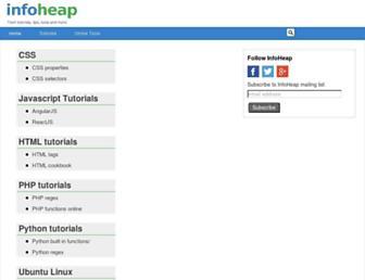 infoheap.com screenshot