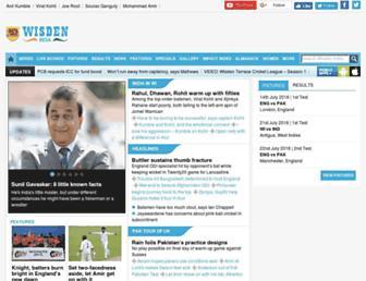 Thumbshot of Wisdenindia.com