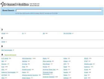 manualmachine.com screenshot