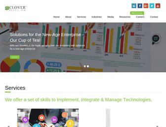 cloverinfotech.com screenshot