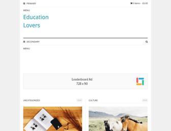 Thumbshot of Educationlovers.com