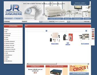 armurerie.jr-international.fr screenshot