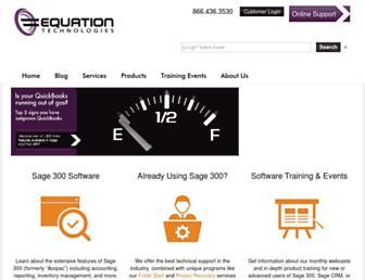equationtech.us screenshot