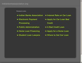 Thumbshot of Indianbanksassociation.org