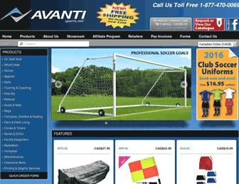 avantisports.net screenshot
