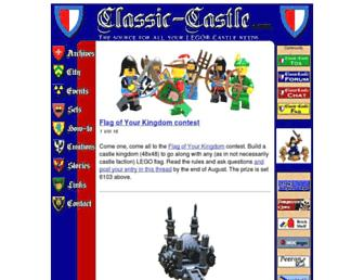 classic-castle.com screenshot