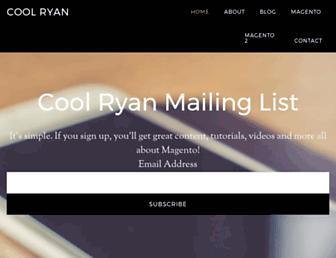 coolryan.com screenshot