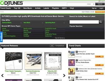 djtunes.com screenshot