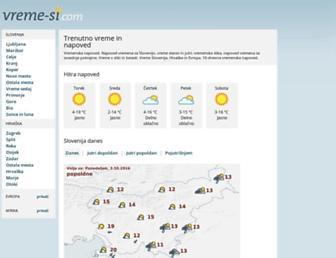 Thumbshot of Vreme-si.com