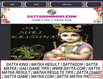 sattadon0001.com screenshot