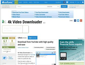 4k-video-downloader.en.softonic.com screenshot