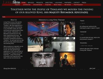 livingfilms.com screenshot