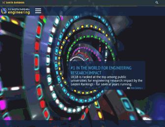 engineering.ucsb.edu screenshot
