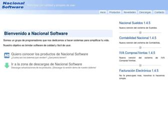 nacionalsoft.com screenshot
