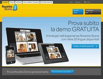 Thumbshot of Rosettastone.it