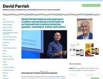 davidparrish.com screenshot