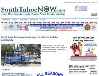 southtahoenow.com screenshot