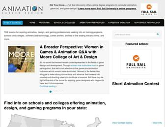Thumbshot of Animationcareerreview.com