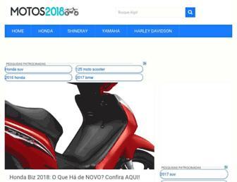 motos2018.com.br screenshot